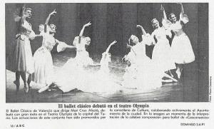 Fotografía del Ballet del Cascanueces